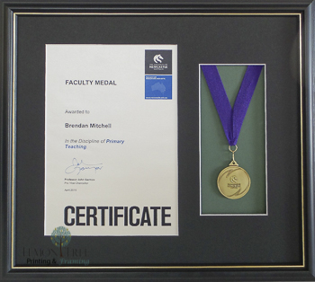 Certificate Framing